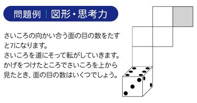 問題例|図形・思考力