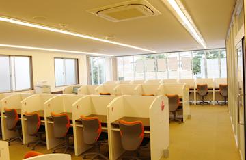2階ブース教室